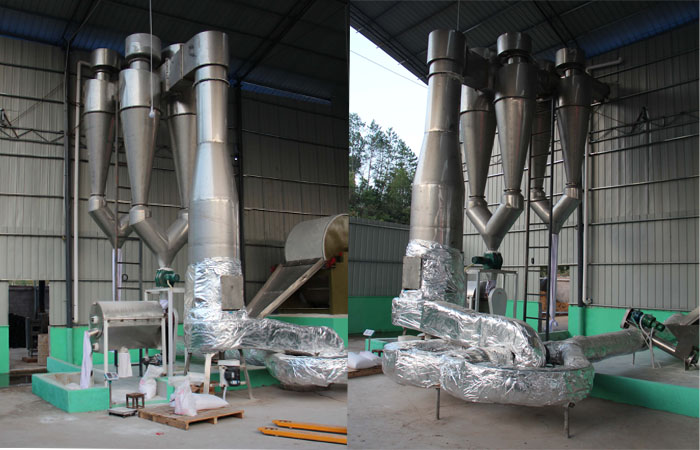 Air flow dryer machine