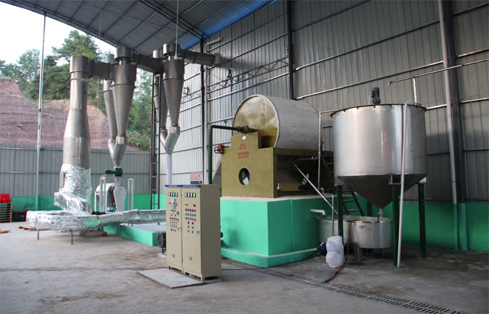 Air steam dryer machine