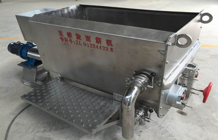 Stainless steel gluten maker