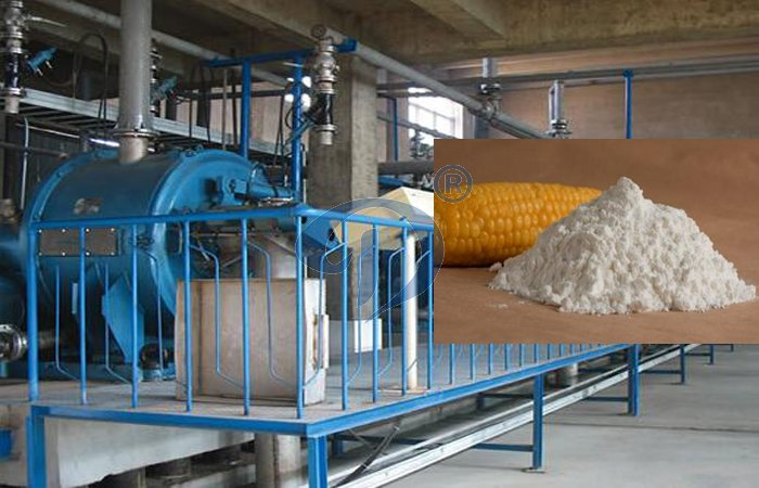 corn starch making machine