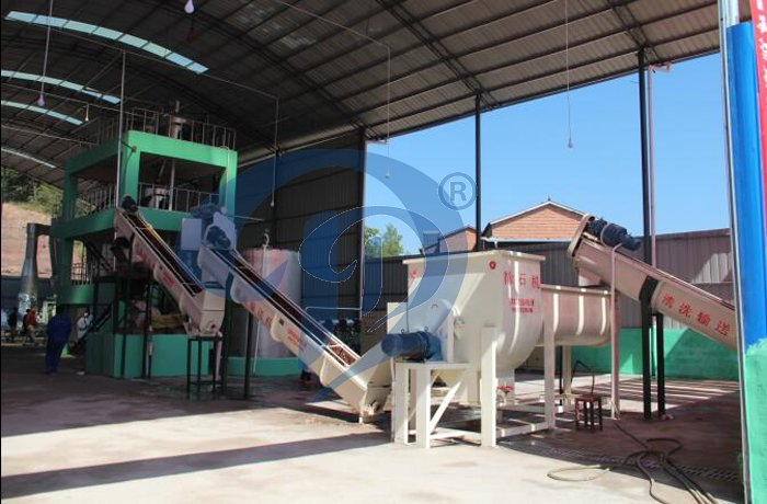 complete potato starch processing plant