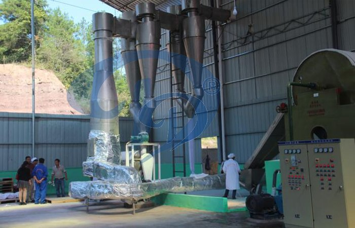 sweet potato starch processing plant