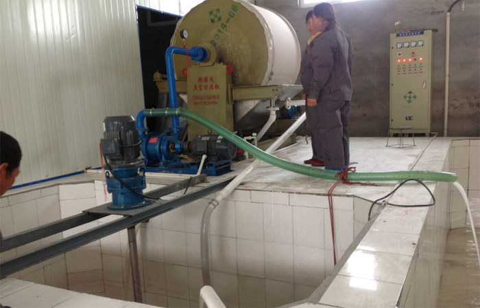 Vacuum dewater machinery