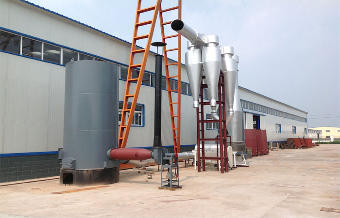 Cassava starch dryer