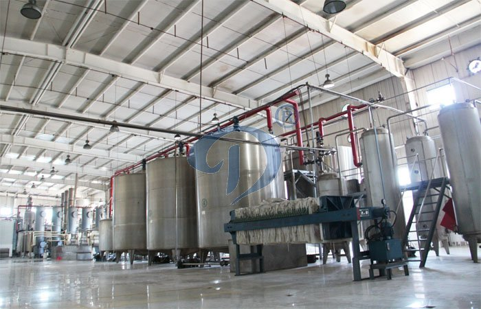 glucose syrup processing line