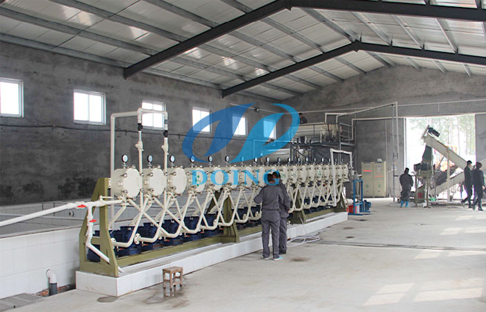 starch processing plant