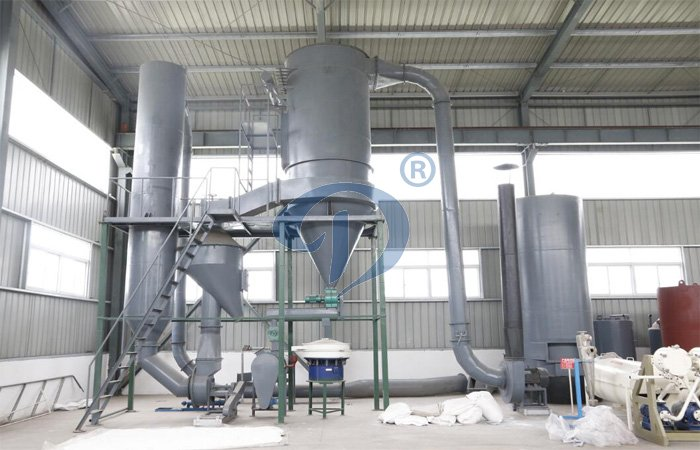 wheat starch processing machine