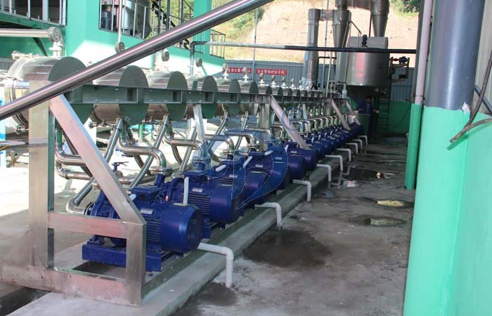 Cassava starch production process introduction