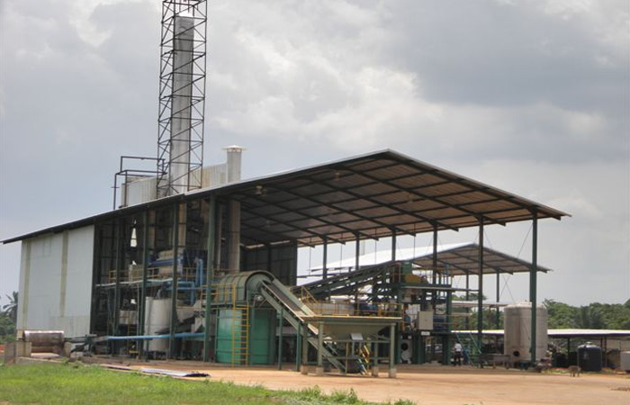 Turn key project in Nigeria for cassava starch processing