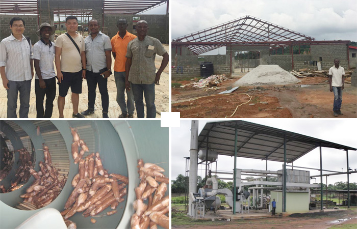 Cassava starch production in Nigeria