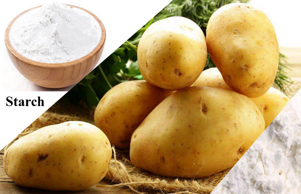 potato starch& potato