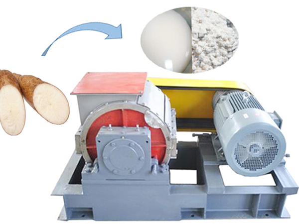Cassava milling machine