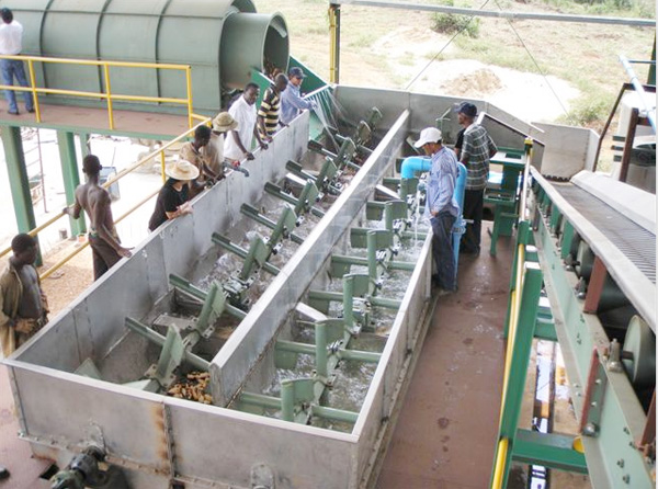 potato starch making machine