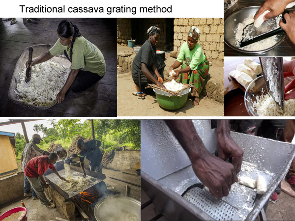 cassava grinding machine