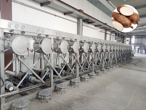 What is the cost of cassava processing equipment ?