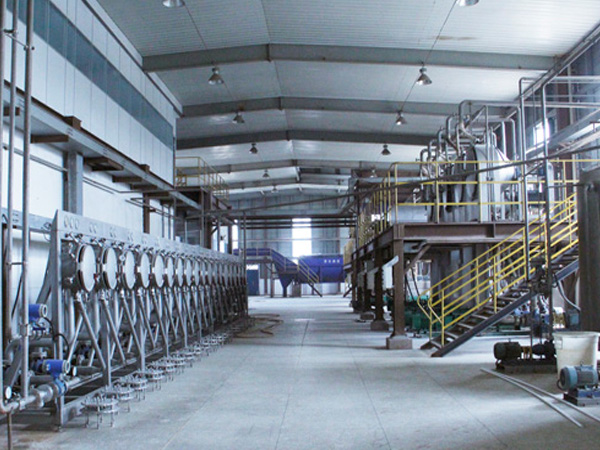 Using automated potato starch processing equipment for starch production is a trend