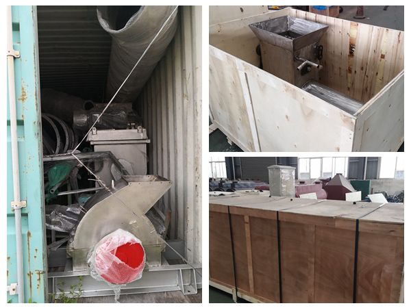 DOING tapioca starch processing machine sales to Liberia