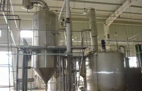 Single effect evaporator system