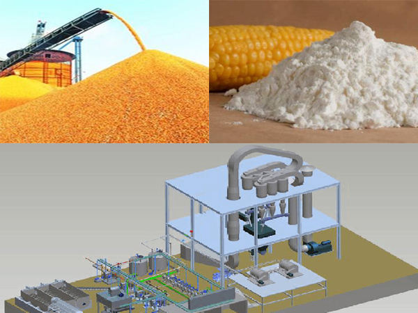 corn starch processing machine
