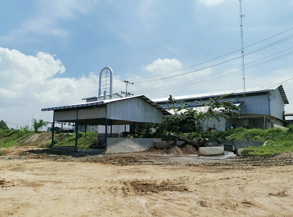 tapioca starch processing plant indonesia
