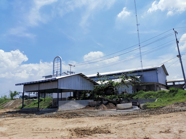 20TPH tapioca starch processing plant installed in Indonesia