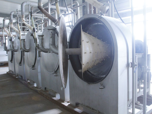 sweet potato starch processing