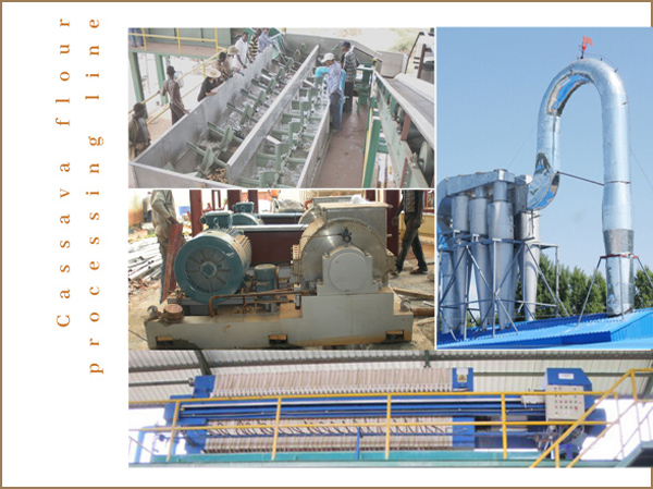 Find substantial equipment manufacturer and supplier to buy cassava flour processing machine
