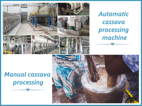Traditional techniques and technological developments for cassava processing industry in Nigeria