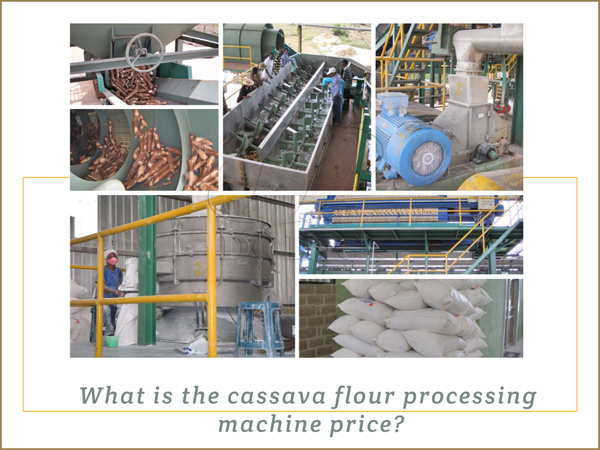 what is the cassava flour processing machine