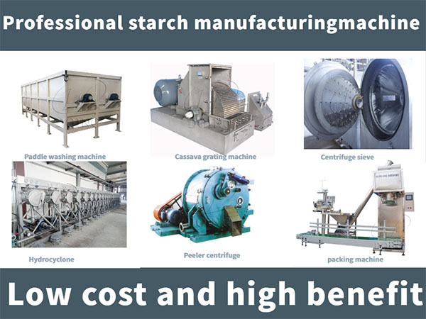 starch production machine